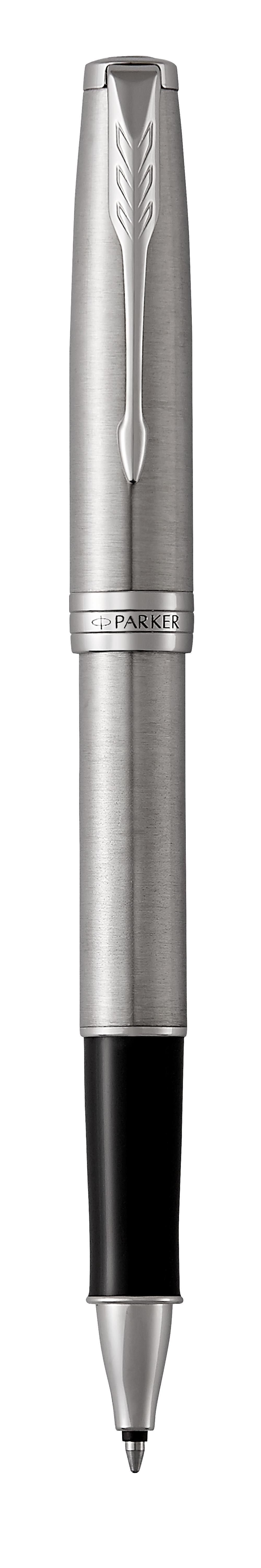 картинка Ручка-роллер Parker Sonnet Core - Stainless Steel CT, ручка-роллер, M, BL/1931511 от магазина Паркер66